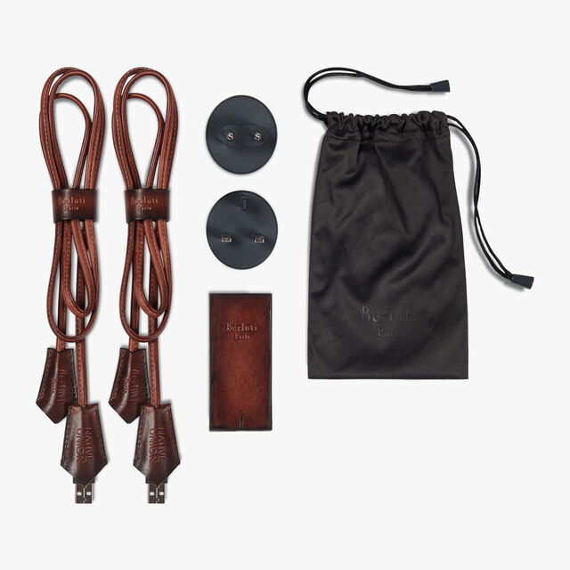 Leather Smart Charger Kit , MOGANO, hi-res
