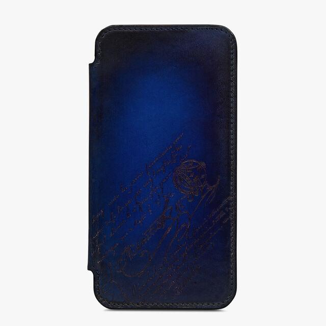 Venezia Iphone 12 Pro Folio , UTOPIA BLUE, hi-res