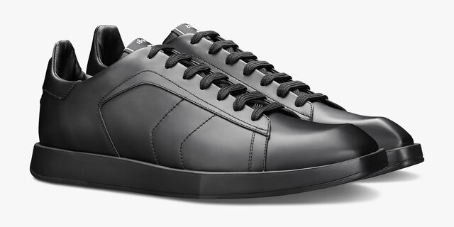 Stellar Leather Sneaker, BLACK, hi-res