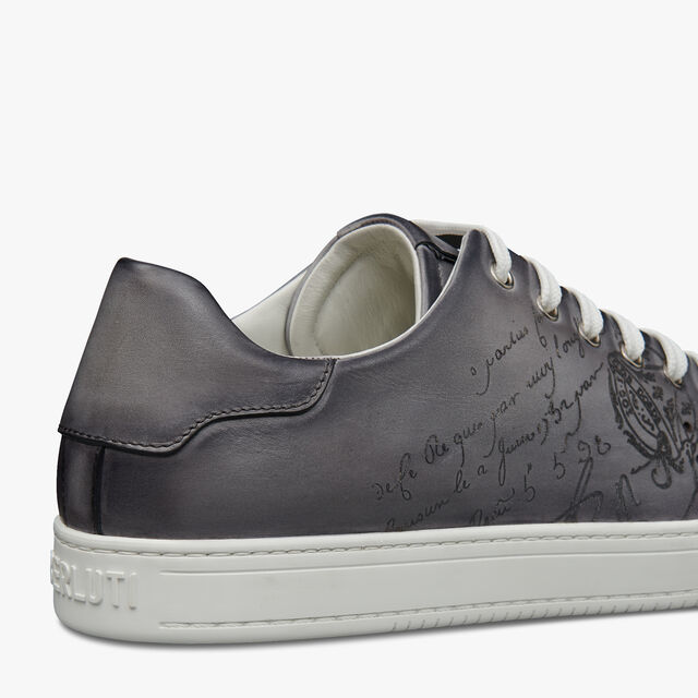 Playtime Scritto Leather Sneaker, LIGHT ALUMINIO, hi-res