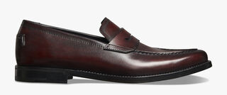 Gianni Sapienza Leather Loafer, BORDEAUX, hi-res