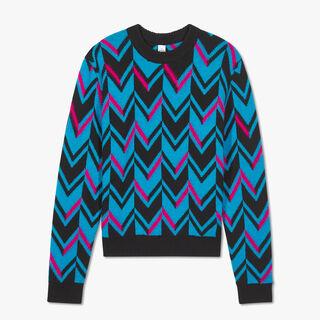 Herringbone Knit Sweater