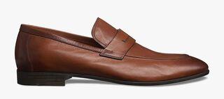 Lorenzo Lecco Kangaroo Leather Loafer, CUOIO, hi-res