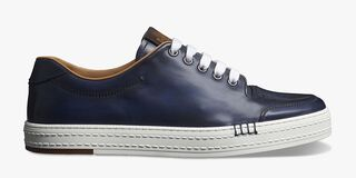 Playtime Palermo Venezia Calf Leather Sneaker, METEORITE, hi-res