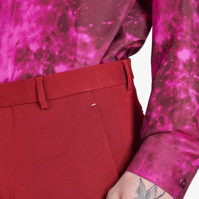 Formal Wool Lined Regular-Fit Pants , VERMILLON, hi-res