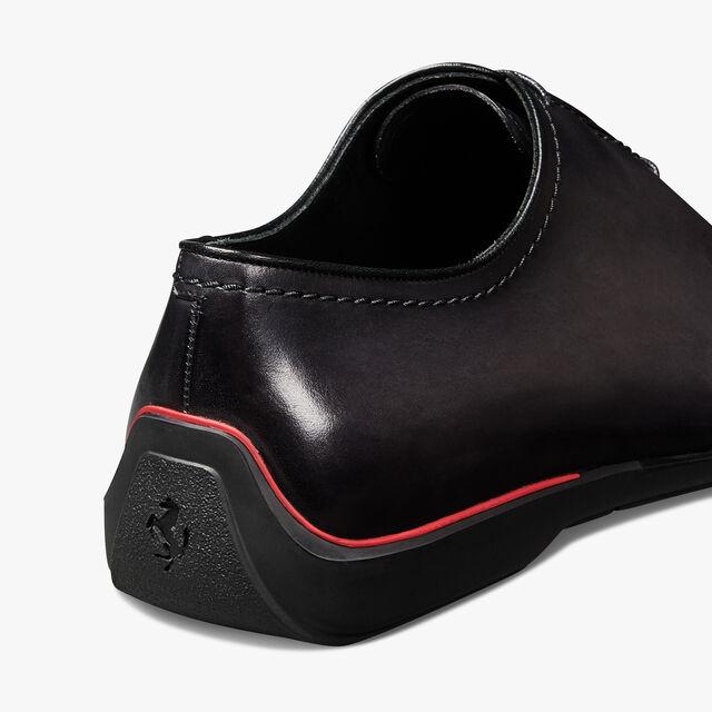 Ferrari 小牛皮牛津鞋 - 店内独售, GRAPHITE, hi-res