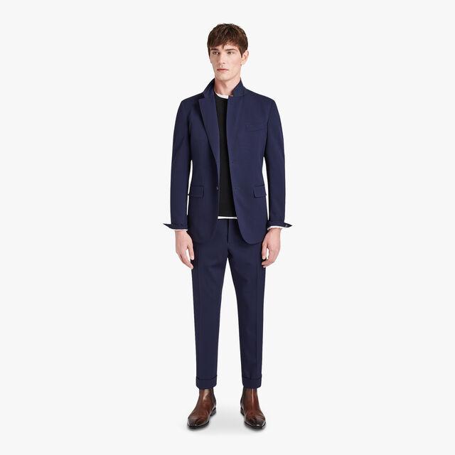 Wool-Blend Formal Trousers, ULTRAMARINE, hi-res