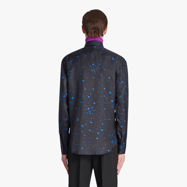 Patina Spot Silk Shirt