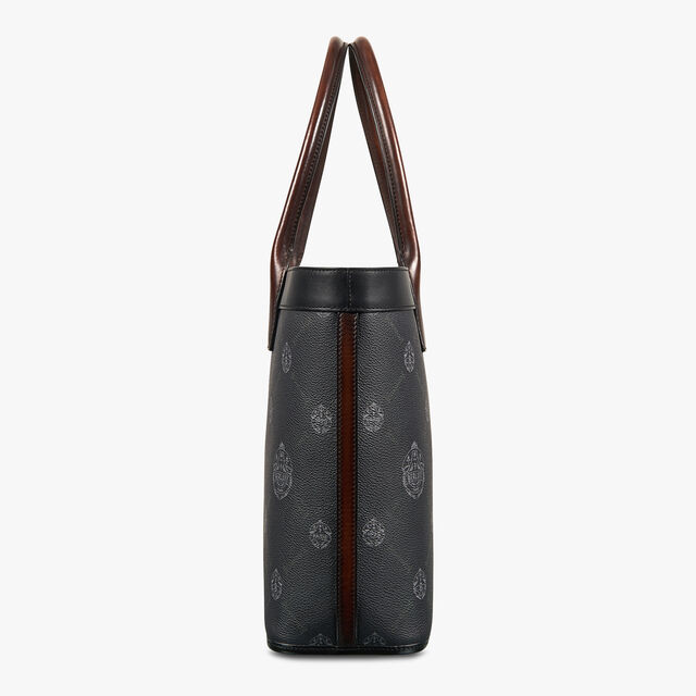 Forever Canvas And Leather Tote Bag, BLACK+TDM INTENSO, hi-res