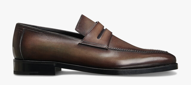 Andy Démesure Leather Loafer, ICE BROWN, hi-res