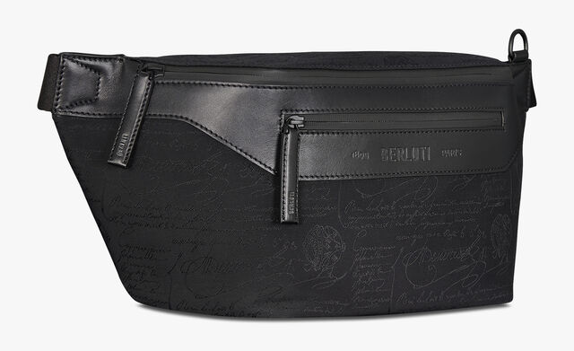 Complice Large Nylon Belt Bag, NERO, hi-res