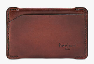 Easy Calf Leather Card Holder, MOGANO, hi-res