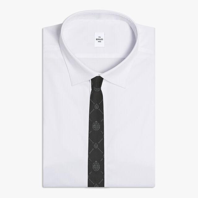 Toile Signature Tie, NOIR, hi-res