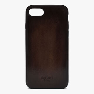 Coque Iphone 7 En Cuir, BASE CACAO, hi-res