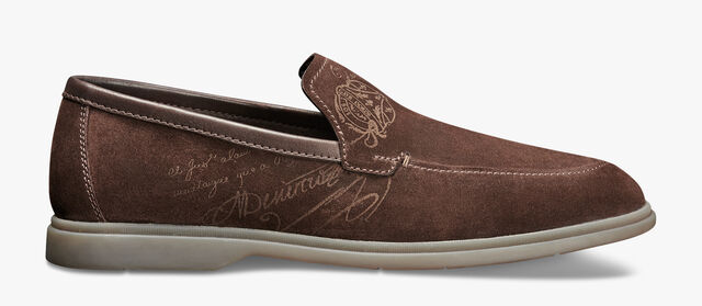 Latitude Suede Leather Loafer, TDM, hi-res
