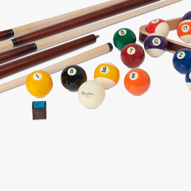 Leather Pool Table, MOGANO, hi-res