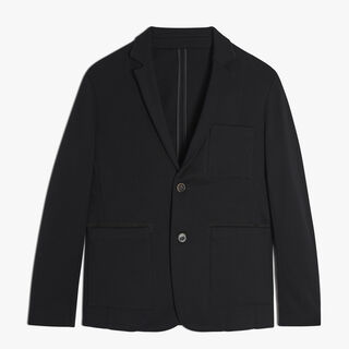 Wool Jacket, NOIR, hi-res