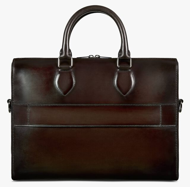 Daily Leather Briefcase, ICE BLACK, hi-res