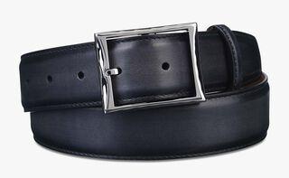 Classic Leather Belt - 35 Mm, NERO, hi-res