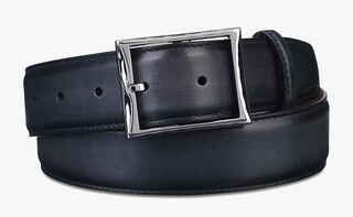 Classic Calf Leather Belt - 35 Mm, NERO, hi-res