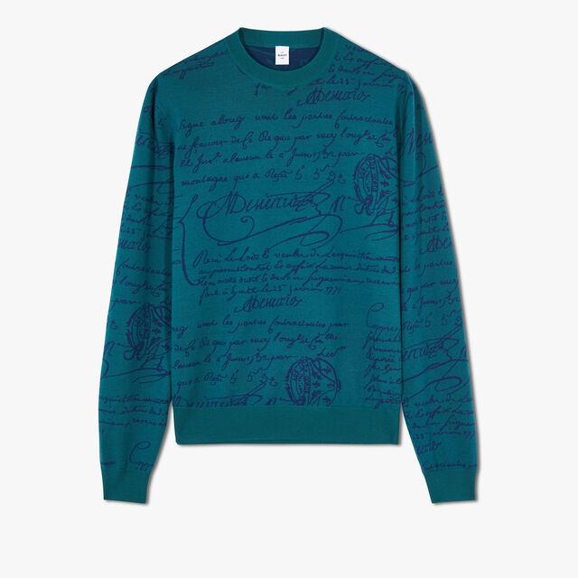 Scritto Sweater, ALPINE GREEN, hi-res