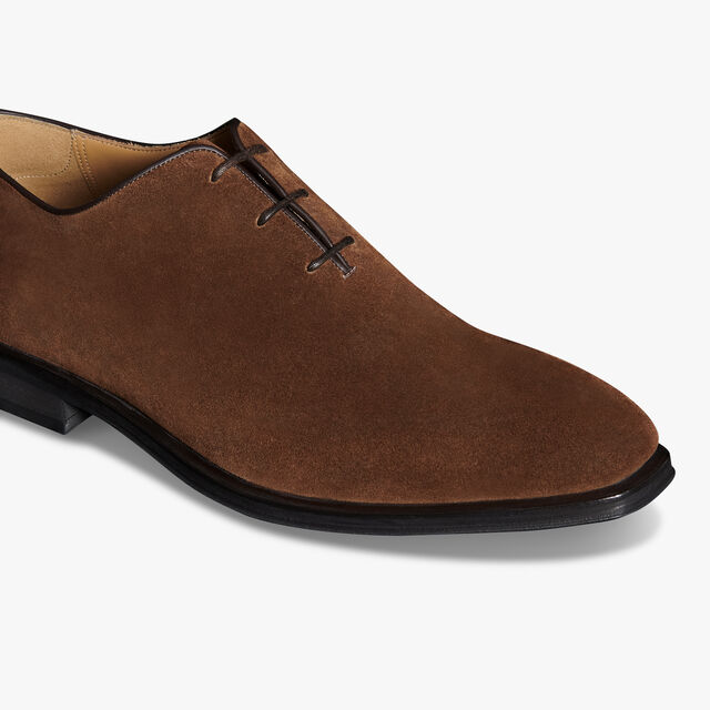Alessandro Infini Suede Oxford, DARK BROWN, hi-res