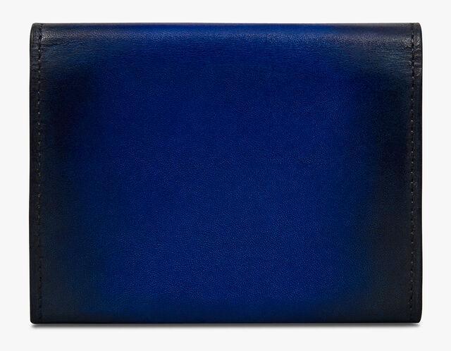 Imbuia Scritto Leather Card Holder, UTOPIA BLUE, hi-res