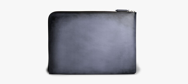 Nino Large Leather Document Holder, METEORITE, hi-res