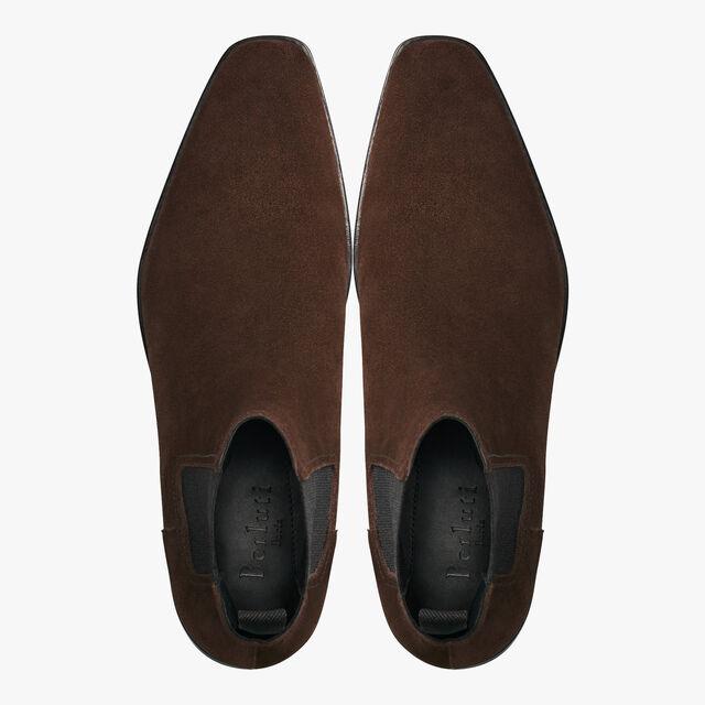 Caractère Éclair Calf Suede Leather Boot, TDM, hi-res