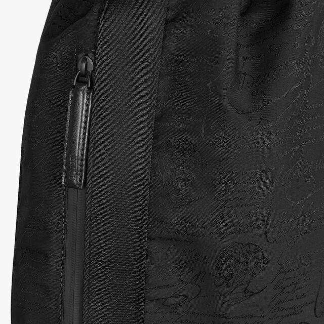 Surface Small Scritto Nylon Backpack, NERO, hi-res