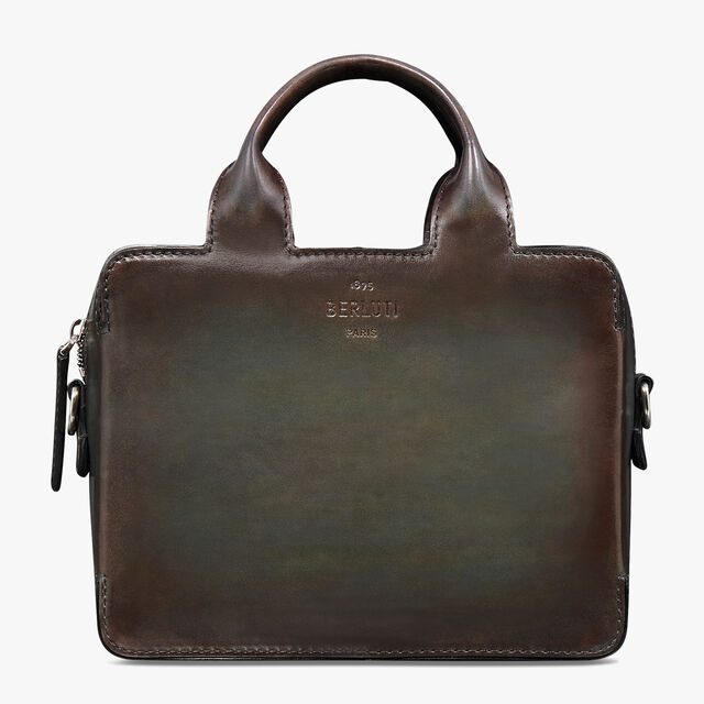 Profil 3 Gulliver Leather Clutch, ICE BROWN, hi-res