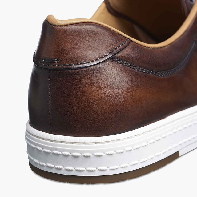 Sneaker Playtime En Cuir , MOGANO, hi-res
