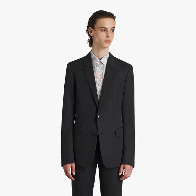 Wool Tailoring Lined Jacket, MYSTERIOUS GREY, hi-res