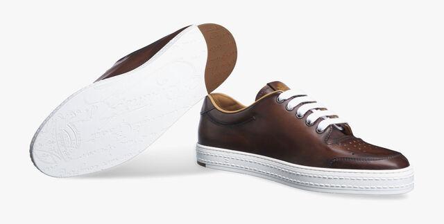 Playtime Palermo Calf Leather Sneaker, MOGANO, hi-res