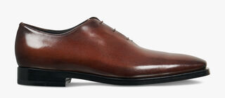 Alessandro Eclair Calf Leather Oxford, BRUN, hi-res