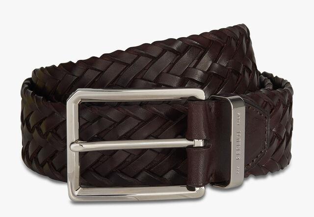 Step Braided Calf 35 MM Belt, TDM INTENSO, hi-res