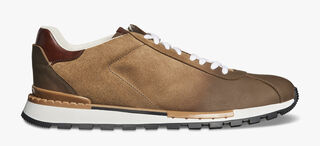 Fast Track Torino Calfskin Suede Sneaker, TAUPE, hi-res