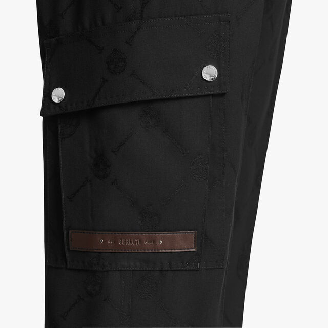 Signature Cargo Trousers, NOIR, hi-res