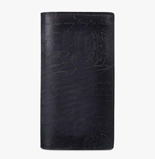 エベネ スクリットレザー長財布, NERO, hi-res