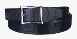 Classic Alligator Leather Belt - 35 mm