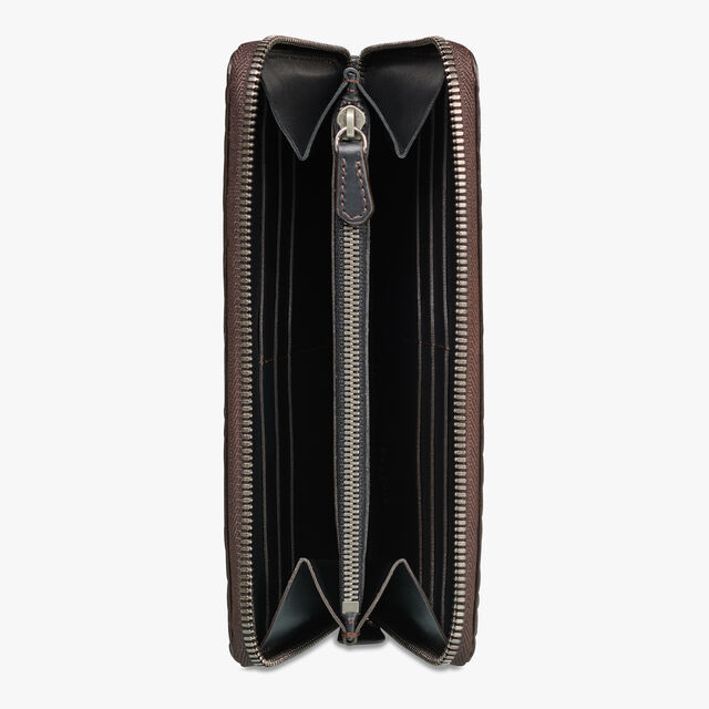 Itauba Alligator Leather Long Zipped Wallet, TDM, hi-res