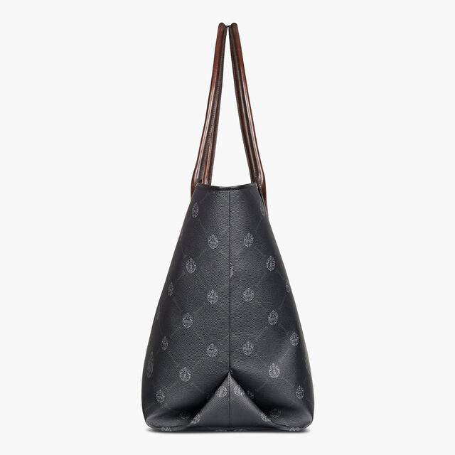 Whopping Canvas And Leather Tote Bag