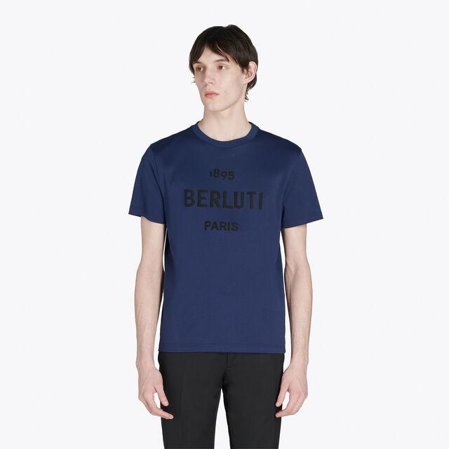 T-Shirt En Coton Avec Logo Brodé, CAOS NIGHT, hi-res