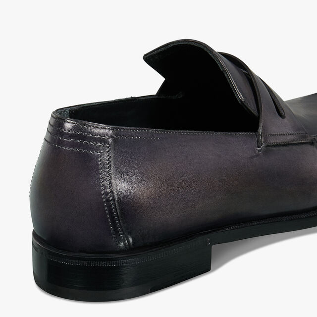 Andy Démesure Leather Loafer, GRAPHITE, hi-res
