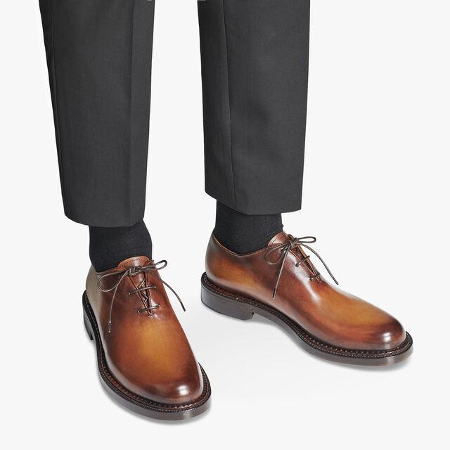 1895 小牛皮牛津鞋, CACAO STORICO, hi-res