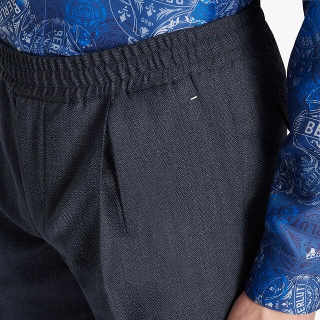 Wool Casual Jogpants