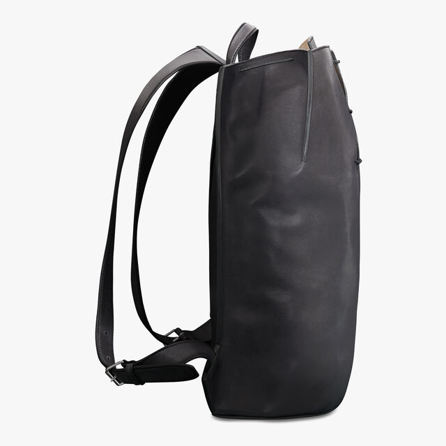 Alessandro Leather Backpack, NERO GRIGIO, hi-res