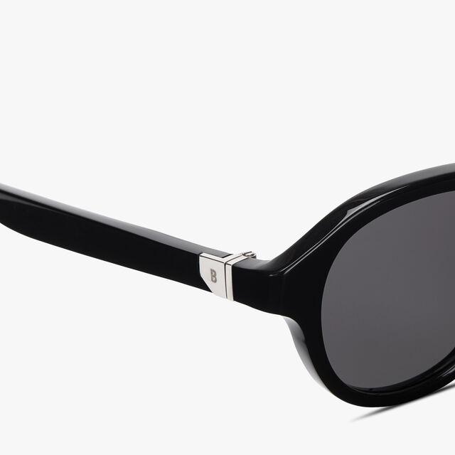 Acetate Eclipse Eyewear, BLACK + SOLID SMOKE, hi-res