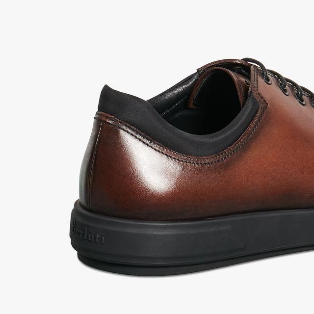 全新的Tibeta 小牛皮牛津鞋, BRUN, hi-res