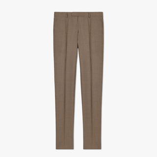 Houndstooth Regular Trousers